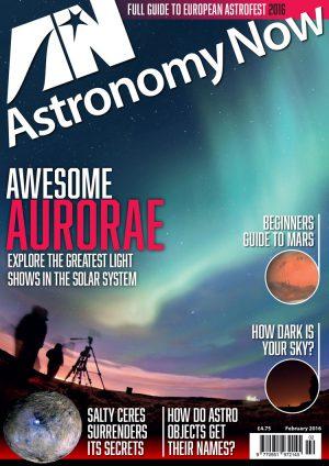 Astronomy Now February 2016