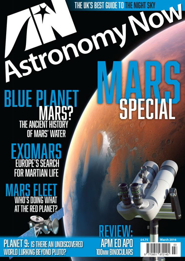 Astronomy Now March 2016