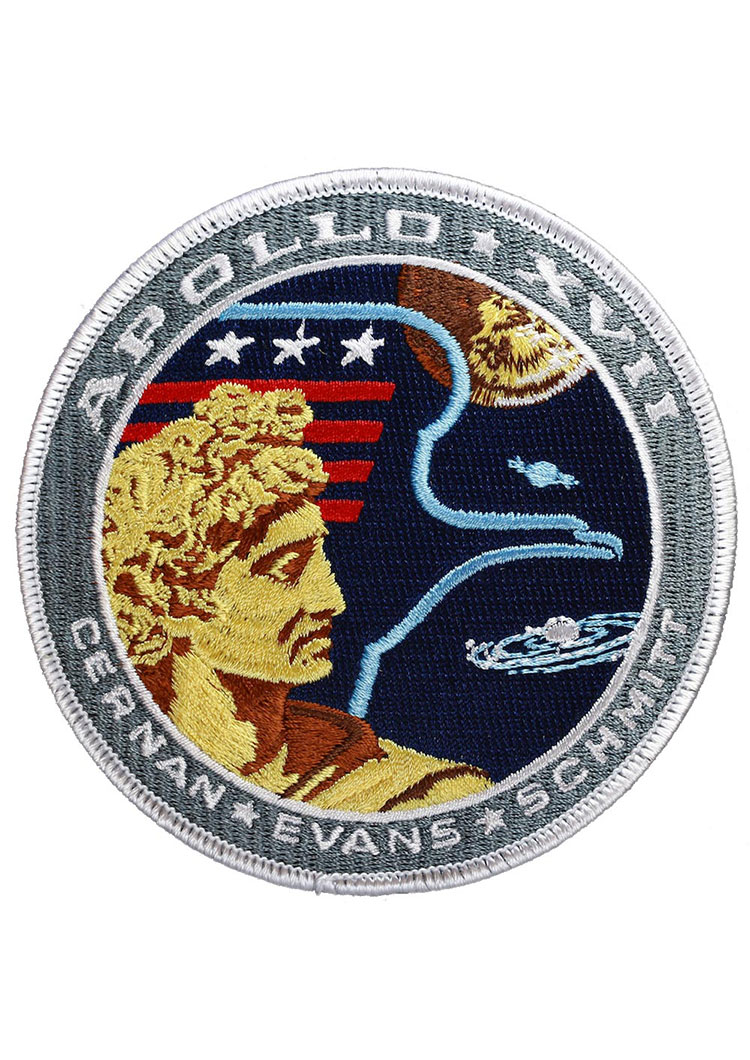 Apollo 17 Embroidered Mission Patch | Astronomy Now Shop