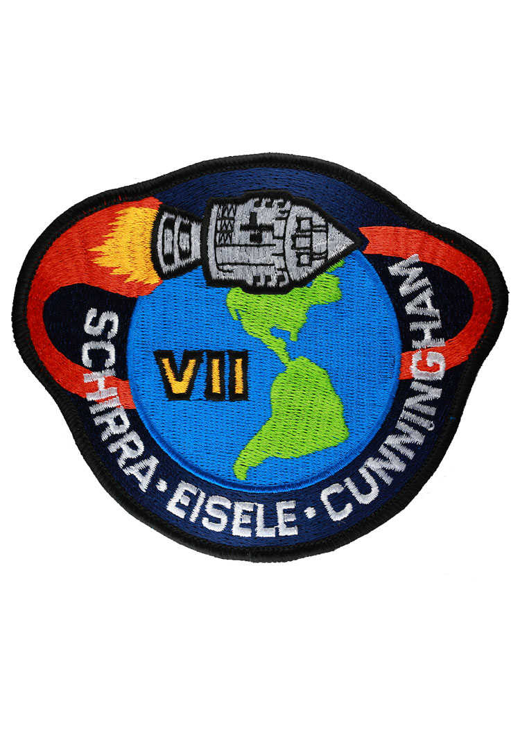 Apollo 7 Embroidered Mission Patch | Astronomy Now Shop