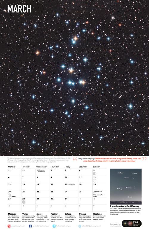 astronomy magazine calendar - 500×767