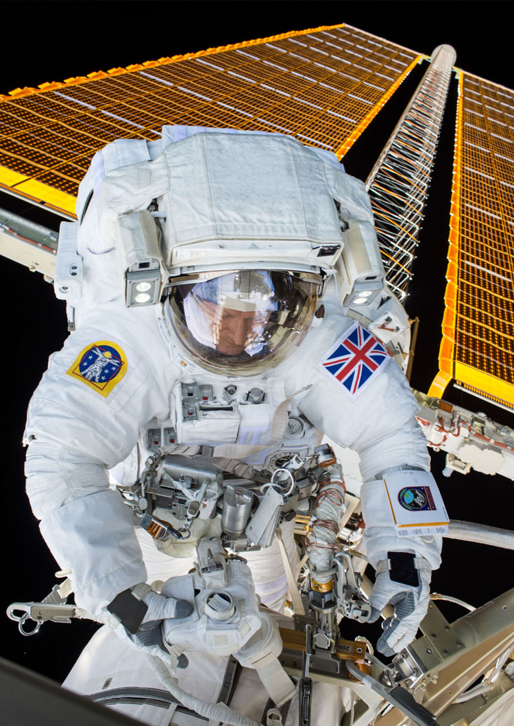 Tim Peake Spacewalk Poster – Astronomy Now Shop