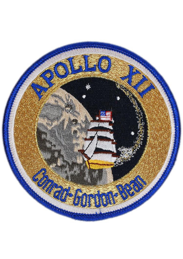 apollo mission patches - 750×1060